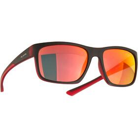 Alpina Lino I Glasses black/red transparent/red mirror